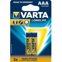 Батарейки Varta longlife AAA (2шт)