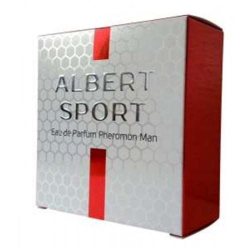 "Парфюмерная вода с феромонами ""Albert Sport Man"""