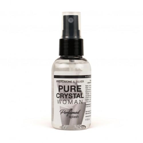 """Парфюмированный спрей для нижнего белья с феромонами и ионами серебра """"Pure Crystal"""""""
