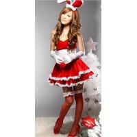 """Рождественское платье """"Ушки на макушке"""""""