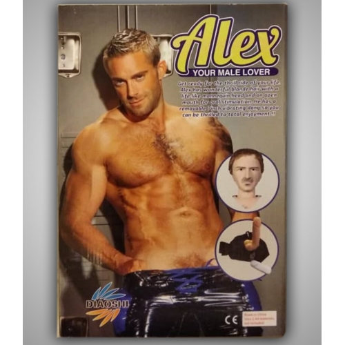 """Надувная Секс-Кукла мужчины """"Alex"""""""