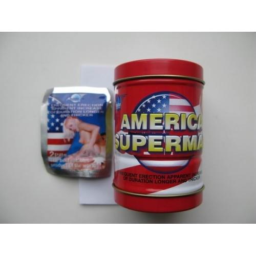 """Препарат для повышения эрекции """"America Superman"""""""