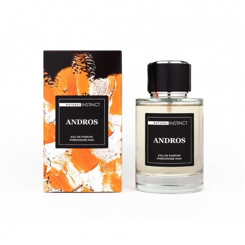 "Мужская парфюмерная вода с феромонами ""Andros"", 100мл"