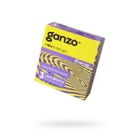 """Тонкие презервативы """"Ganzo Sense"""", 3шт"""
