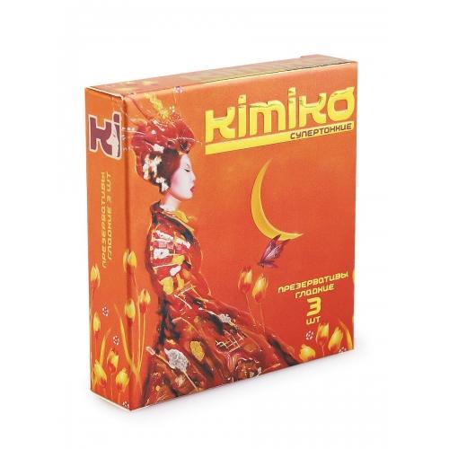 """Супертонкие презервативы """"Kimiko"""", 3шт."""