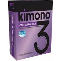 "Сверхпрочные презервативы ""Kimono"", 3шт."