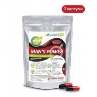 """Средство возбуждающее с L-carnitin """"Man's Power"""", 2 капсулы"""