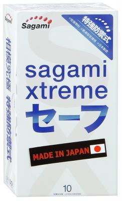 """Японские ультратонкие латексные презервативы """"Sagami Extreme"""""""