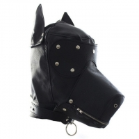 БДСМ маска Собачки на шнуровке