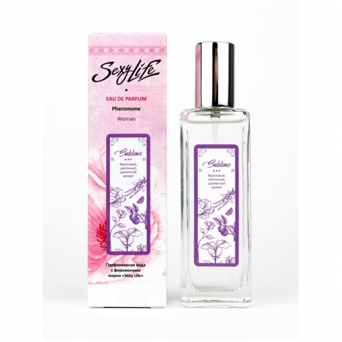 """Женская Парфюмерная вода с феромонами """"Sublime"""", 30мл"""