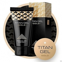 """Специальный гель """"Titan Gel Gold"""", 50мл"""